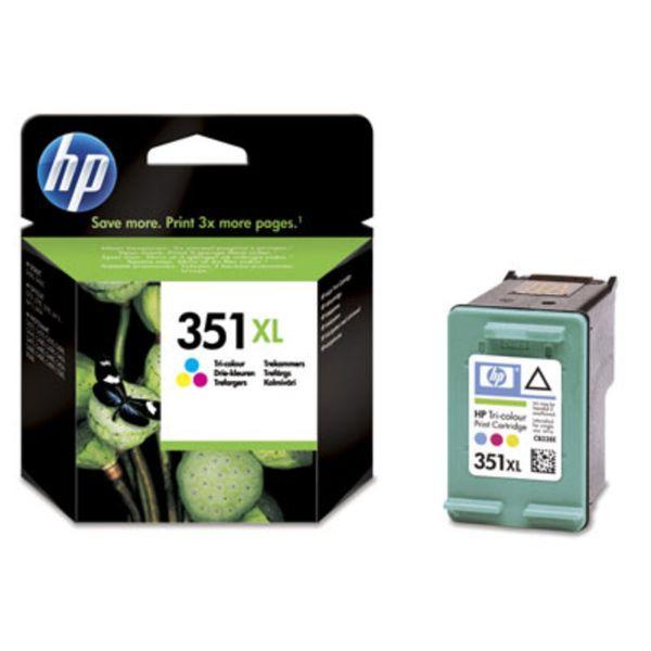 HP Tintenpatrone Nr. 351XL CB338EE 3-farbig (ca. 580 Seiten)