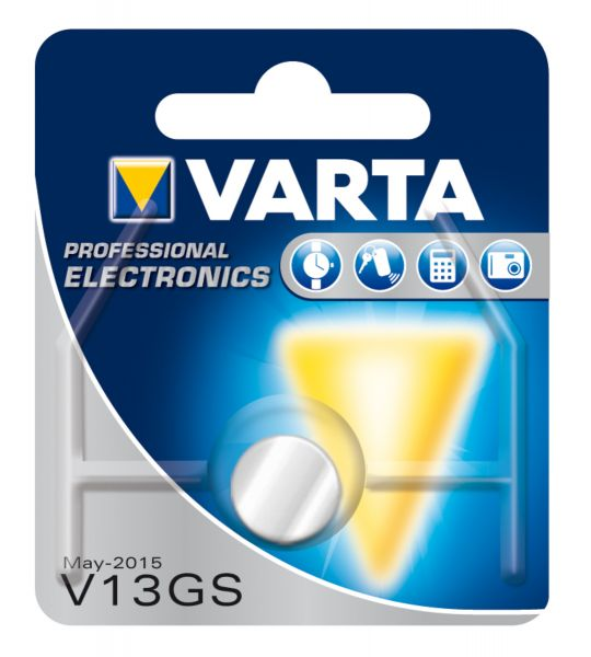 VARTA Knopfzellenbatterie Electronics V13GS (SR44) Alkaline