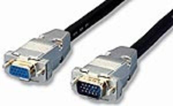 equip VGA Monitorverlängerungskabel 3+7 Stecker/Buchse 3m
