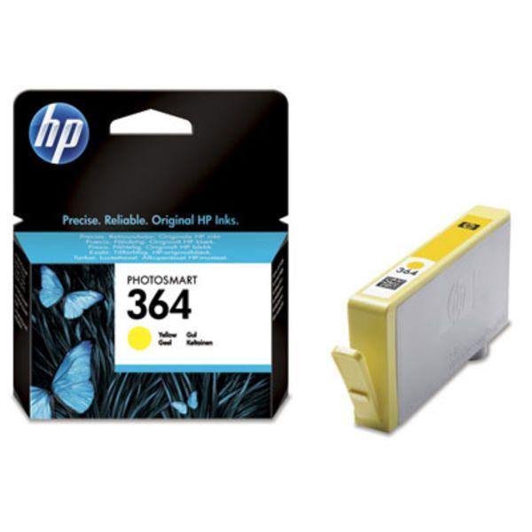 HP Tintenpatrone Nr. 364 CB320EE Gelb (ca. 300 Seiten)